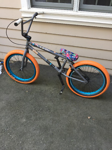 Fully customized Radio Bmx bike