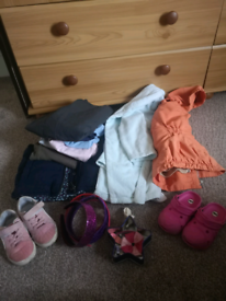 Clothes and shoes 2-4 years