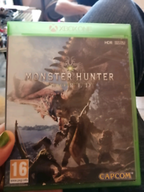 Monster hunter xbox one game