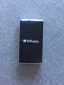 128GB Verbatim External Portable SSD