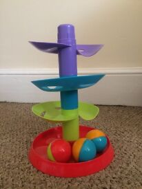 Baby toy tower