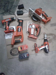 Black decker tools up for sale