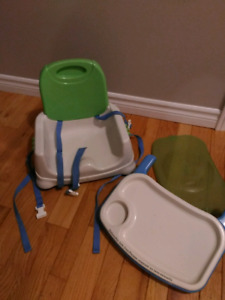 Fisher price deluxe booster highchair