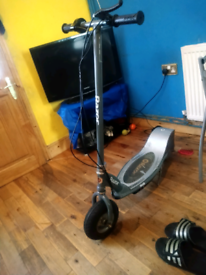 Electric scooter E300 can deliver