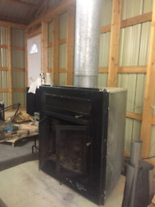 Wood Burning Fire Place For Sale