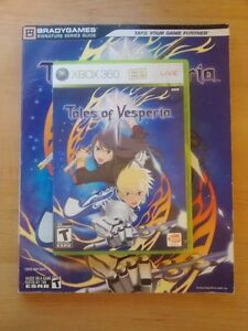 Tales of Vesperia + Signiture Series Guide (XBOX 360)