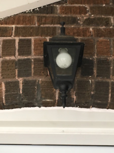 Gothic Style Outdoor Light Fixture