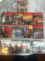 PS3 120 GB with 13 games - $200