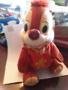1980s CHIP and Dale  rescue ranger plush