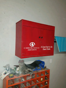 Autobody supply cabinet