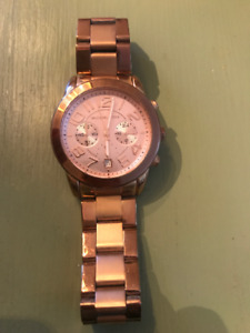 Womens Rose Gold Michael Kors Watch