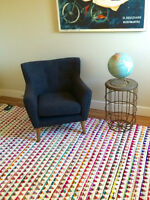 Modern Chindi Rug 8x10 NEW WITH TAGS
