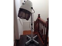 Free standing professional hair dryer
