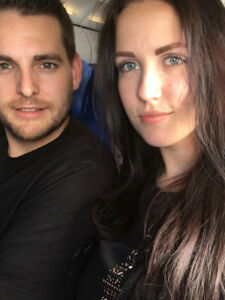 Young Couple looking for apartment in Huntsville or Parry Sound