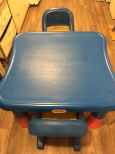 Little tykes adjustable table and 2 chairs