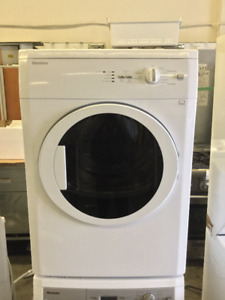 "Blomberg 24"" White Front Load Dryer"