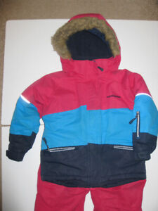 Girls Snow Suit (age 6x-7)