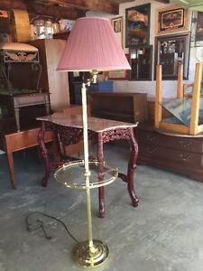Floor Lamp with Shelf