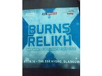 2 tickets to the Ricky Burns title fight