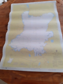 Lough Neagh Admiralty Charts and Pilot Book, Chart plotter+dividers