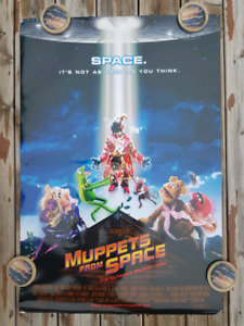 MUPPETS FROM SPACE (1999) Jim Henson Movie Poster - USED
