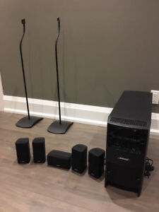 BOSE ACOUSTIMASS 10 SERIES IV Speakers & SONY STRDN1050 RECEIVER