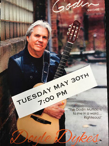TUESDAY MAY 30th DOYLE DYKES LIVE IN STORE!!