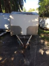 Dual axel enclosed box trailer St Marys Penrith Area Preview