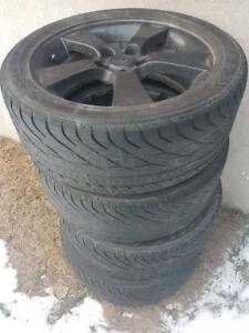 4 Mags noir jantes roues Winter Rims Hiver 17 pouce Mazda