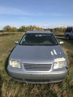 2000 Jetta parts car for sale