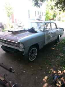 1967 4door Chevy 11 nova up for trade or 1500$