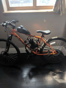 Motorized Peddal Bike 88cc Brand New