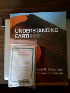 Geol 121/108 - Understanding Earth including Lab mineral kit