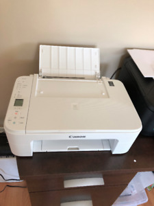 White Canon Printer