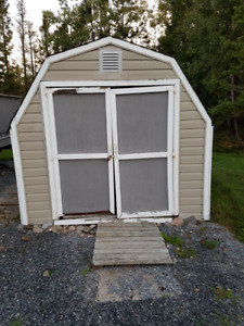 8x10 Baby Barn Storage Shed for Sale