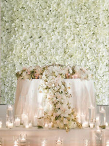 Flower wall/ Flower Panel/Backdrop flowers/Stage Decor/ Wedding