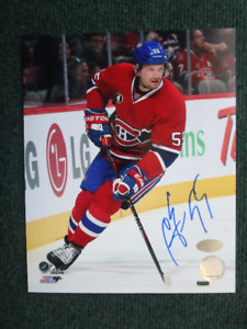 SERGEI GONCHAR Montreal Canadiens Autographed 8x10 Photo W/COA