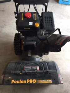 "Poulan Pro 27"" Snowblower Model PP265E27, 2 stage 265cc"