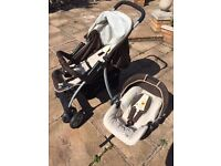 Graco Baby Pushchair Stroller Pram with Car Seat