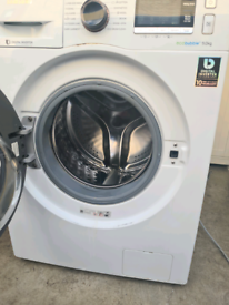 Samsung eco bubble 9kg working washing machine,Free delivery