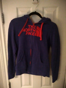 Small womens North Face zip up Hoodie