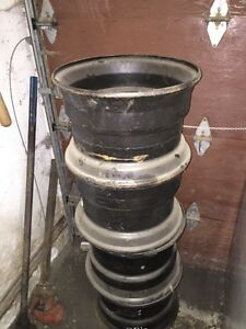 "16""x10"" ? Unused rims. Ditchwitch trencher ??"