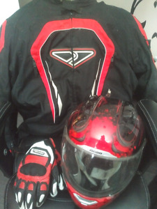 Mens motorcycle gear (REDUCED)