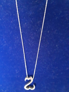 """Give Your Heart to Her...with this """"Open Heart"""" silver necklace"""