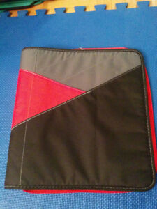 "NEW: Casemate 1.5"" 3 Ring Curve Pocket Zippered Binders - $8each"