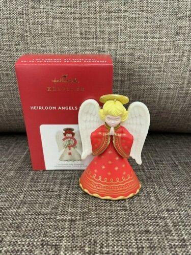 2021 Hallmark HEIRLOOM ANGELS SURPRISE Red Repaint Ornament *NIB* FREE SHIP US!!