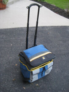 Like-New Collapsible Rolling Cooler