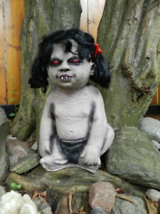 Halloween TheNIBBLER ZombieBaby She Is Ugly+Hungry+Moving On!