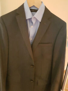 Slightly used Ralph Lauren Grey Suit Jacket and matching pants -