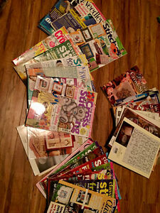 Cross Stitch Magazines & Patterns will trade for....